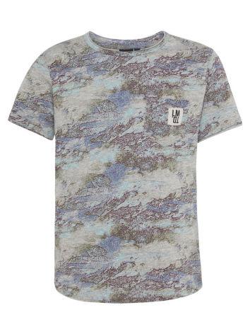 Kortärmad T-shirt, Gråmönstrad, LMTD