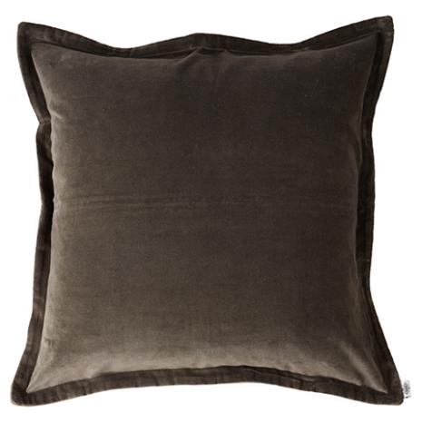 Kuddfodral, Mörkgrå 60x60 cm