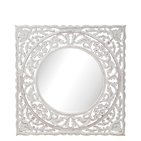 Spegel, Vit