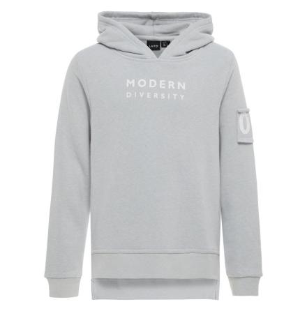 Sweatshirt med Huva, Grå