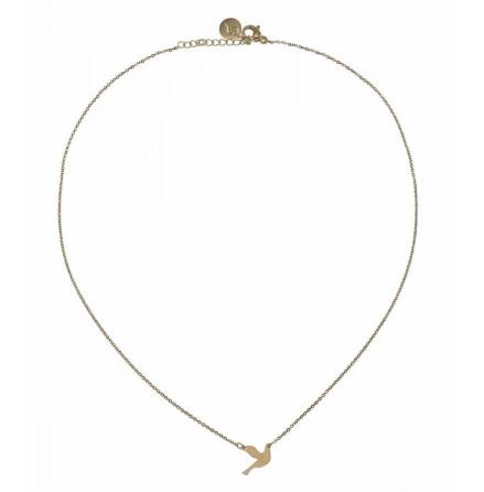 Halsband Duva, Guld, Edblad