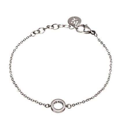 Armband Monaco Mini, Stål, Edblad