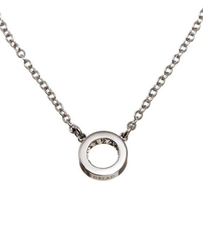 Halsband Monaco Mini, Stål, Edblad