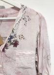 Blommig Skjorta Rosa