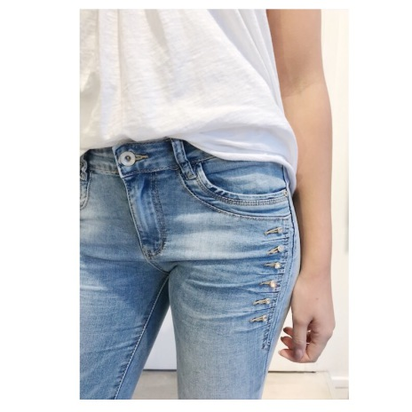 Jeans Slim Fit Bling