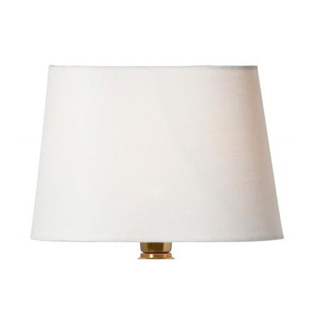 Lampskärm, Linne Vit Oval, Watt & Veke