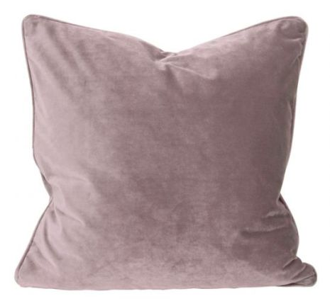 Kuddfodral, Sammet, Rosa 60x60 cm