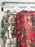 Kimono Red One size