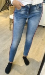 Jeans med revär