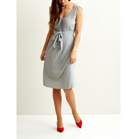 Vipliss S/L Dress Grey