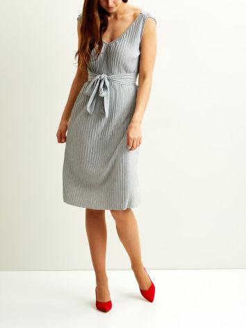 Vipliss S/L Dress Grey