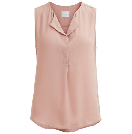 Vilucy S/L Top Adobe rose