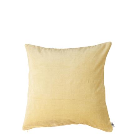 Kuddfodral, Sammet, Gul 50x50 cm