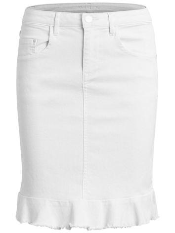 Vicommit Peplum Denim Skirt