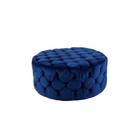 Sittpuff Sammet Royal Blue Large