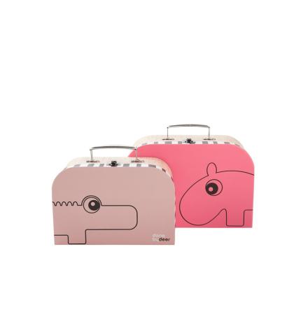 Väska, Hallon/Puderrosa, Done by Deer
