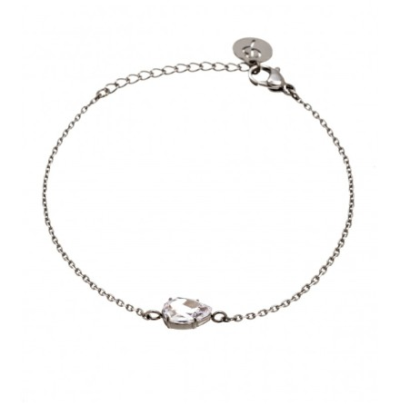 Armband Aqua, Stål, Edblad