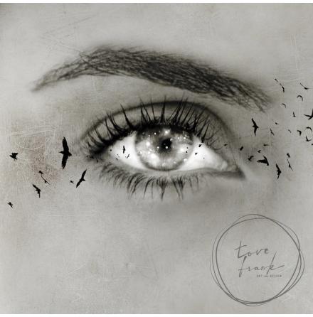 Kort, Visions 15x15 cm, Tove Frank