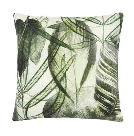 Botany, kuddfodral, Gröna blad 60x60