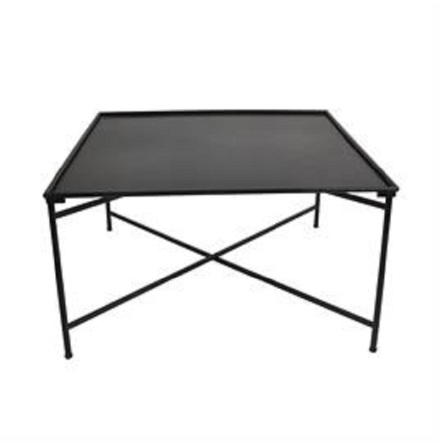 DEVON Coffee Table 90x90x50 black N/A