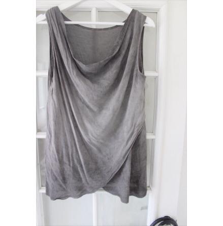 Linne grå One size
