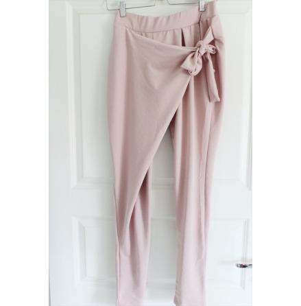 Byxa med knyt rosa S