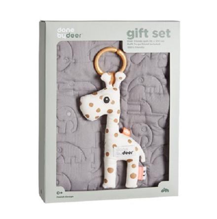 Quilt - presentset, 80x100 cm, grå