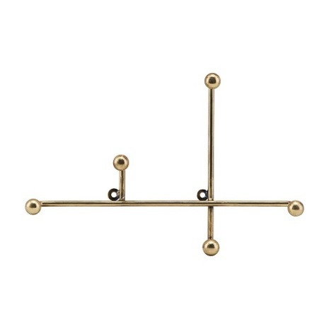 Hook Prea antique brass längd 28 cm bred 4 cm höjd 18 cm