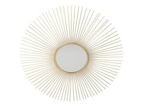 Spegel Sol guld