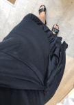 Omlottklänning senap