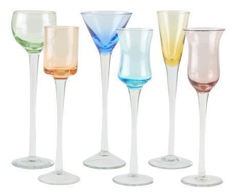 Shotglas - 6-pack - multicolor