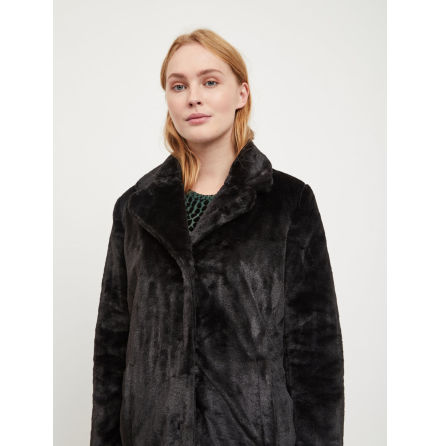 Objviolet Faux fur Black