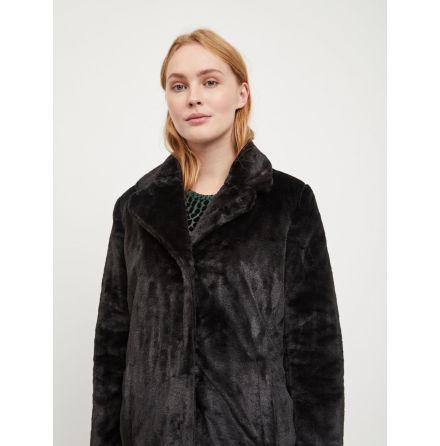 Objviolet Faux fur Black